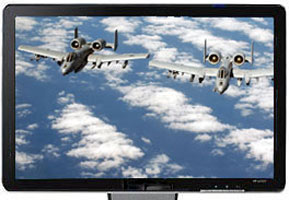 A-10 Thunderbolt Screen Saver for Wide Screen Displays screenshot: A-10 thunderbolt screen saver, 16:9,wide screen display, high re