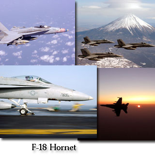 F-18 Hornet Screen Saver screen shot