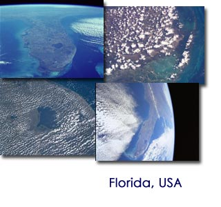 florida views from space
