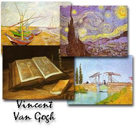 Screenshot of Vincent Van Gogh Screen Saver